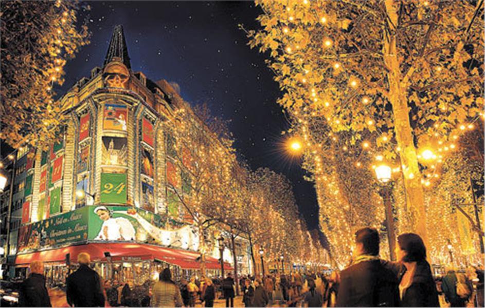 Экскурсия по парижу на новый год